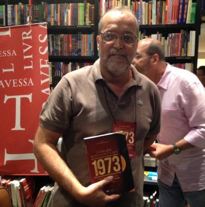 Célio Albuquerque, o organizador do livro/ Foto: Juliana d'Arêde