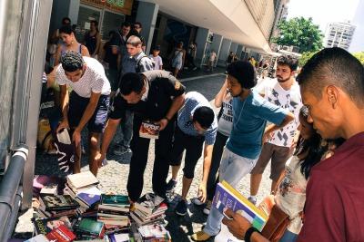 Mais de 1.500 livros já foram esquecidos/Divulgação/Facebook