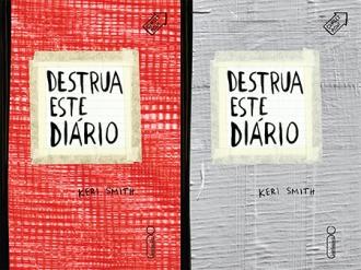 """Novas capas de """"Destrua Este Diário""""/Divulgação/Intrínseca"""