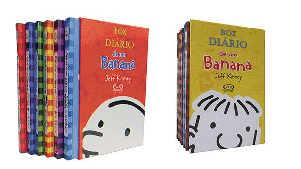 Diário de um Banana - Box Vermelho (6 volumes) Box Amarelo (7 volumes)