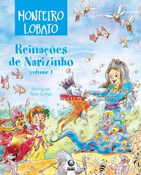 Capa 'Reinações de Narizinho' / Divulgação